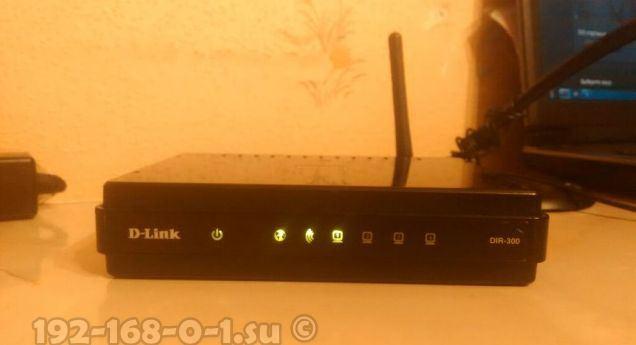wi-fi роутер d-link dir-300 NRU B6