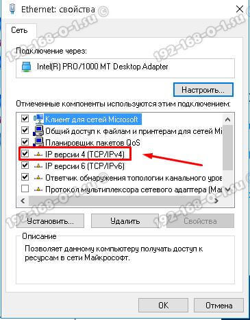 протокол интернета ip версии 4